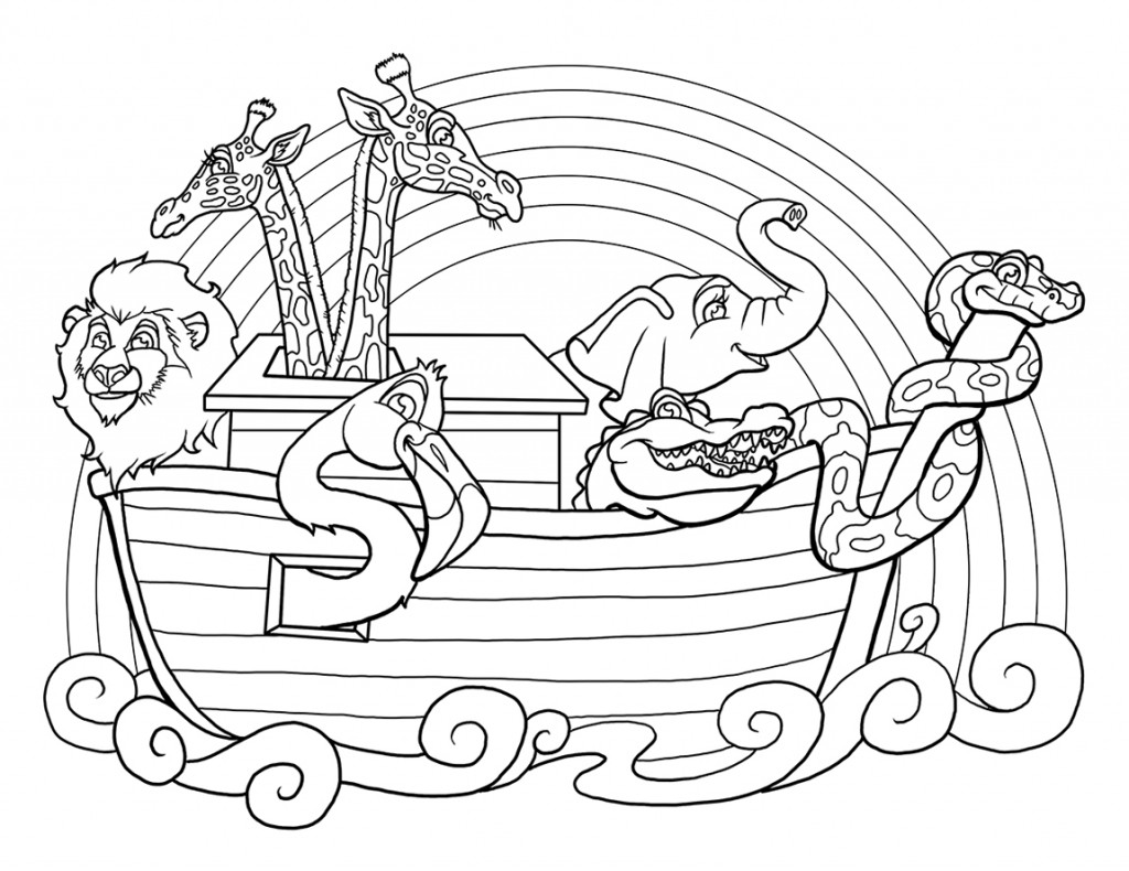 Free Noah Ark Coloring Pages at GetDrawings.com | Free for ...
