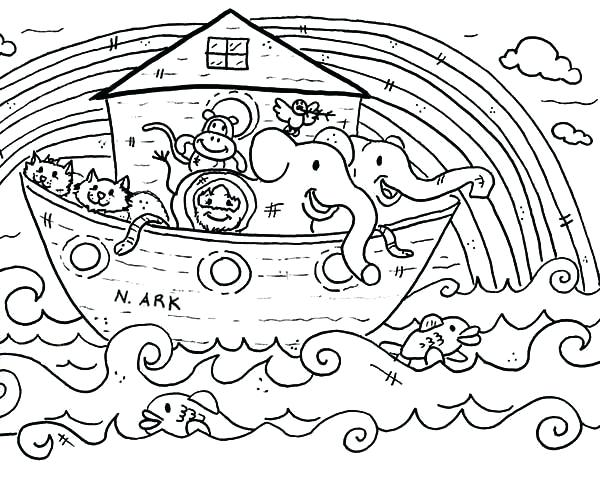 photo relating to Noah's Ark Printable referred to as Totally free Noah Ark Coloring Internet pages at  Totally free for