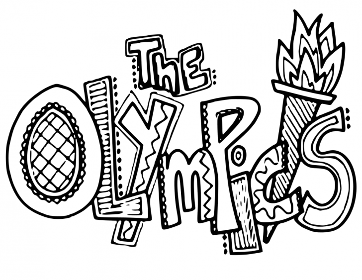 Free Olympic Coloring Pages At Getdrawings Free Download