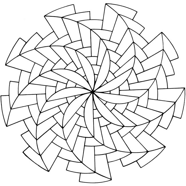 Free Online Mandala Coloring Pages