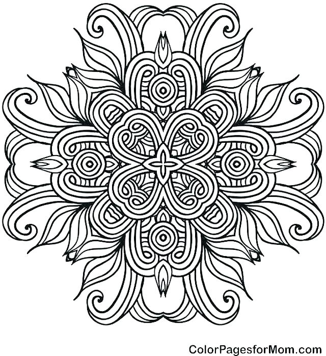 640x698 Coloring Pages Of Mandalas Coloring Pages Of Mandalas Mandalas