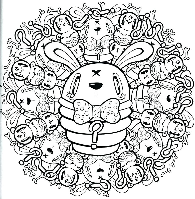 781x800 Awesome Coloring Pages For Adults