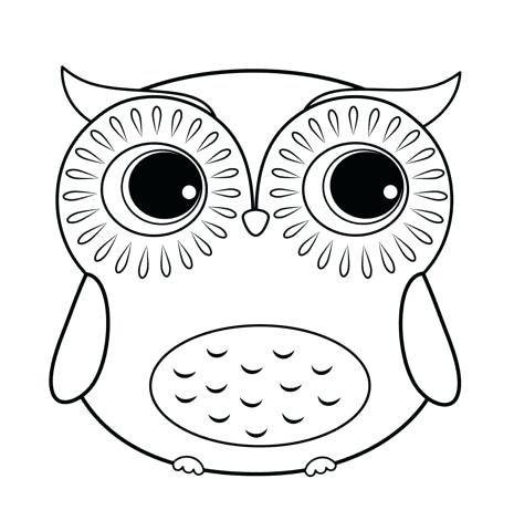 Free Owl Coloring Pages To Print At Getdrawingscom Free For