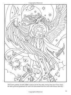 Free Pagan Coloring Pages