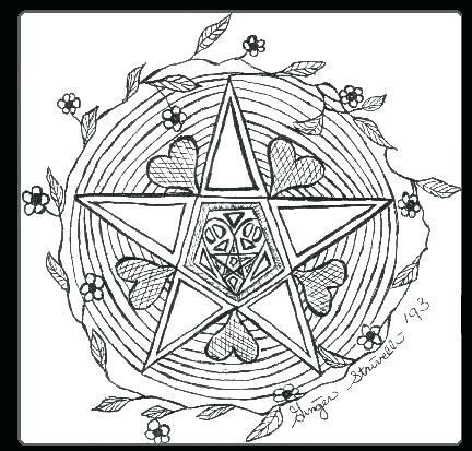 432x413 Pagan Coloring Pages Complete Pagan Coloring Pages Online Best