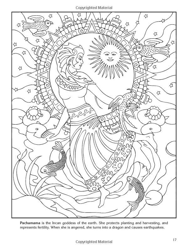 600x800 Best Goddess Adult Coloring Images On Coloring