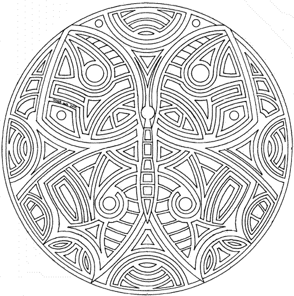 1000x1004 Free Mandala Coloring Pages For Adults Az Adult
