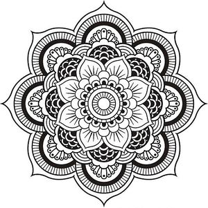 300x301 Free Mandala Coloring Pages Fresh Mandala Coloring Pages