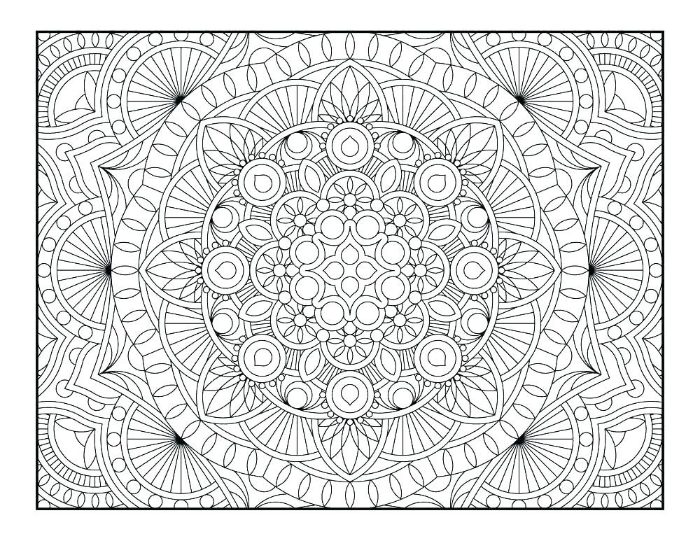 1000x773 Geometric Pattern Coloring Pages Geometric Design Coloring Sheets