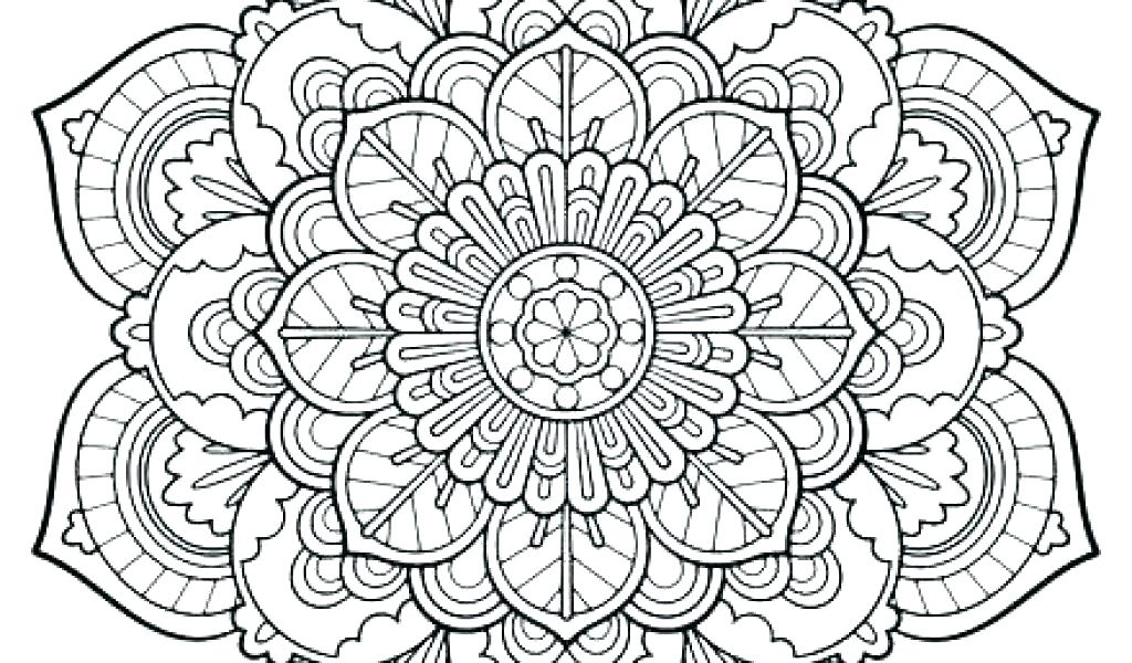 1024x600 Mandala Coloring Pages Free Printable Mandala Coloring Pages Free