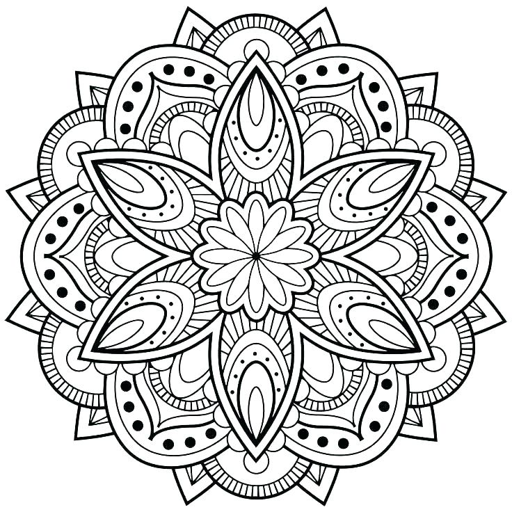 736x736 Design Coloring Pages Printable