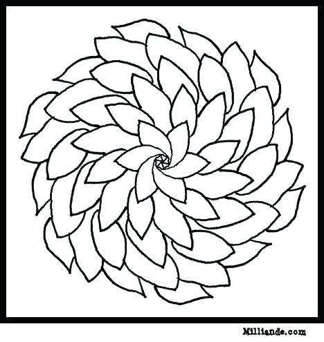 468x495 Flower Mandala Coloring Pages Flower Page Printable Coloring