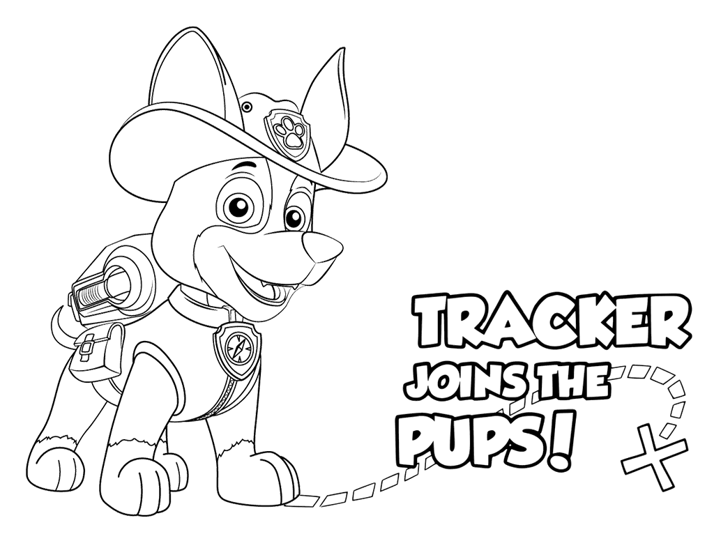 1024x776 Paw Patrol Coloring Pages