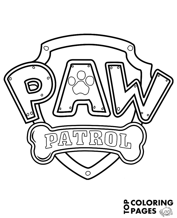 600x740 Paw Patrol In Adventure Bay To Color For Children Rescue Dogs