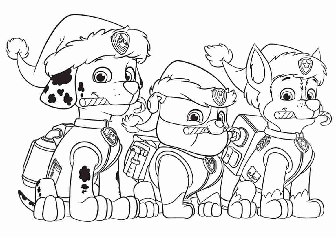 1160x820 Chase Paw Patrol Coloring Pages To Download And Print For Free