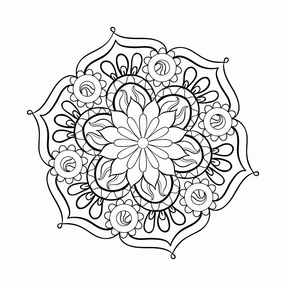 1000x1000 Unique Of Printable Adult Coloring Pages Pdf Gallery