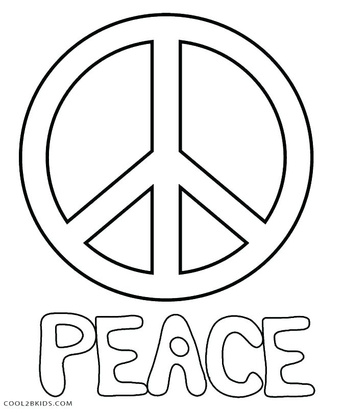 672x800 Free Printable Peace Sign Coloring Pages Inspirational Free Free