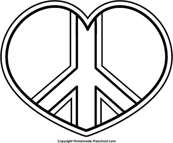 571x471 Peace Coloring Pages Drawn Peace Sign Coloring Page Peace