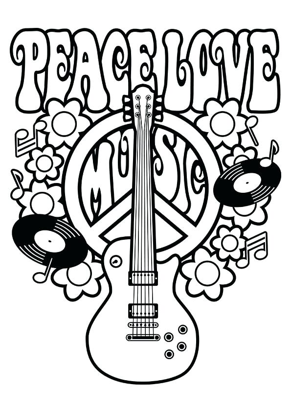 595x842 Peace Symbol Coloring Pages Top Free Printable Peace Sign