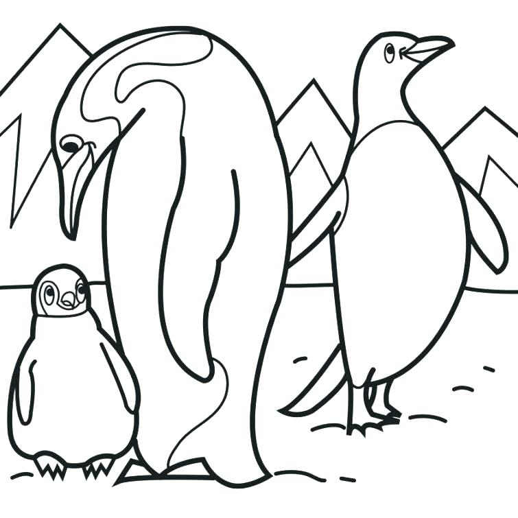 755x755 Tacky The Penguin Coloring Pages Penguin Coloring Book Coloring