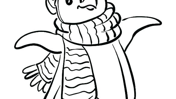 585x329 Free Penguin Coloring Pages To Print