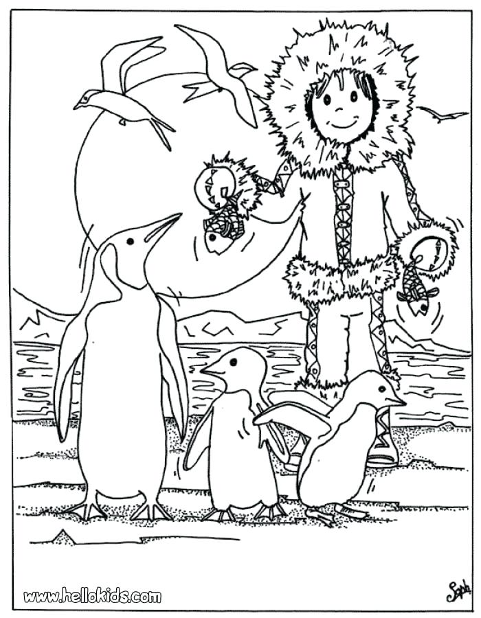 700x900 Coloring Pages Of Penguins Penguin Coloring Page Free Penguin