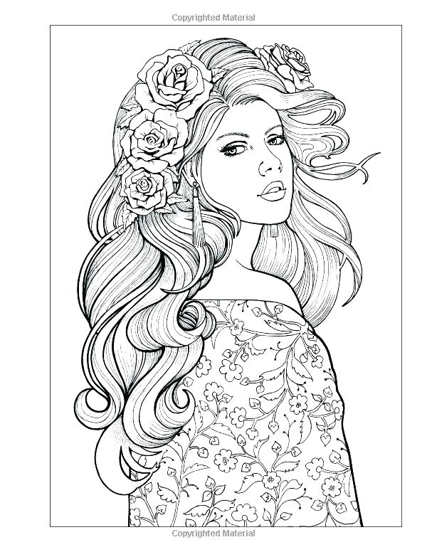 600x776 People Coloring Adult Coloring Pages People People Coloring Pages