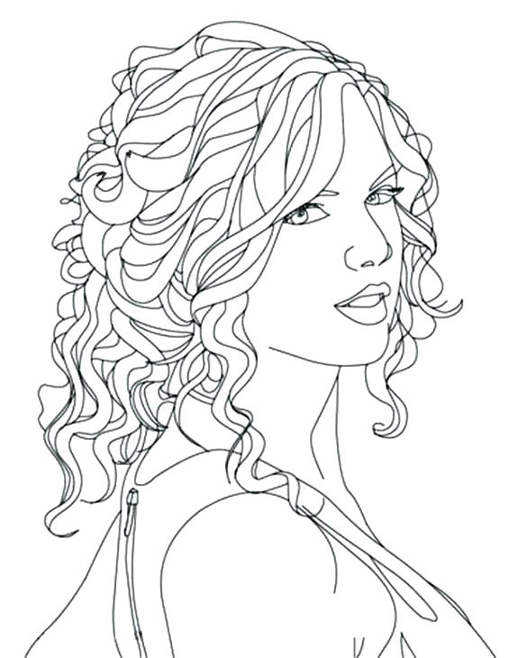 565x730 Famous People Coloring Pages