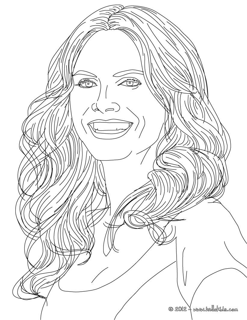 821x1061 Heidi Klum German Famous Model Coloring Pages Hellokids People