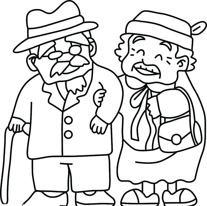 666x663 Coloring Pages For Older Adults Coloring Pages For Older Adults