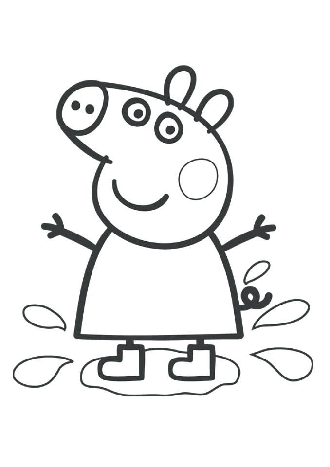 678x960 Peppa Pig Print Free Pig Coloring Pages To Print Peppa Pig