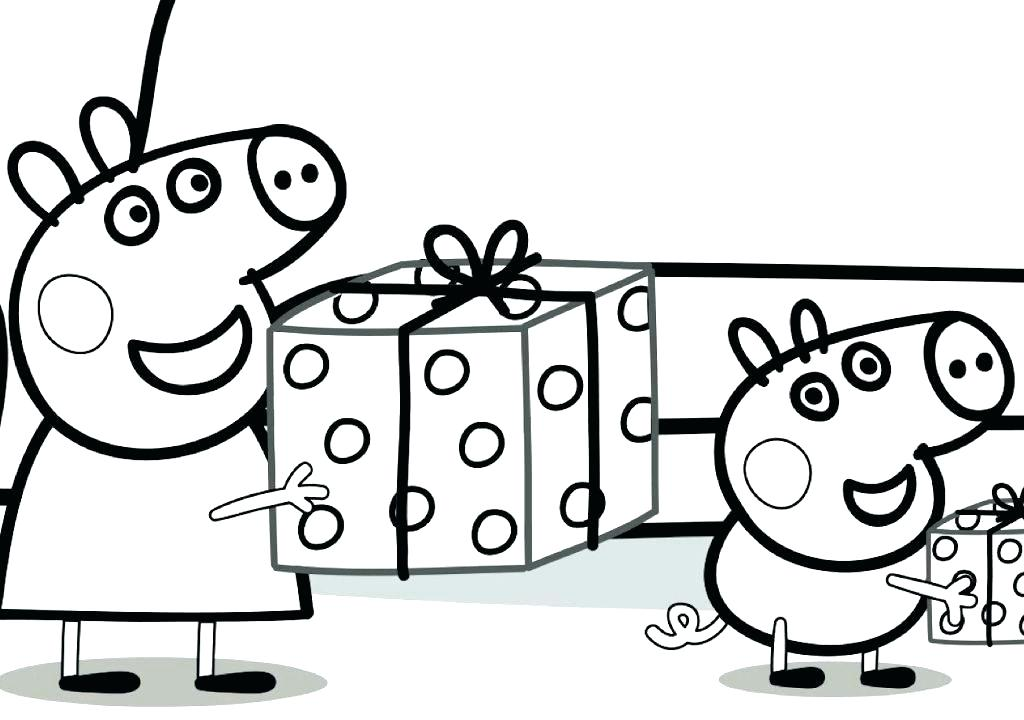 1024x720 Peppa Pig To Color Pig Color Pages Pig Coloring Pages Pig