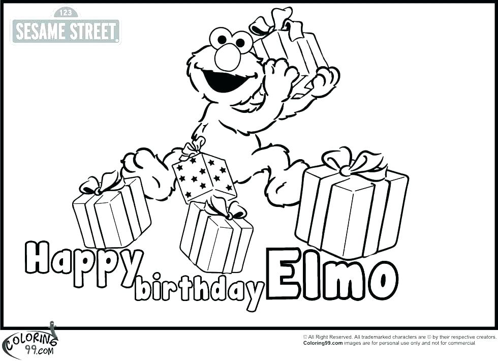 980x710 Free Birthday Coloring Pages