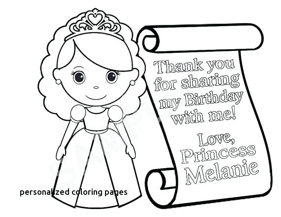 570x440 Personalized Coloring Pages