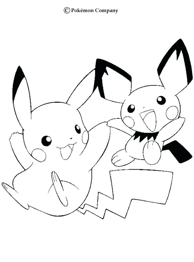 630x850 Picachu Coloring Pages Pokemon Pikachu Coloring Pages Free