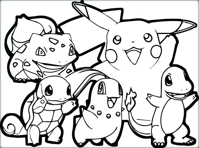 840x626 Pikachu Color Pages Latest Printable Coloring Pages Page Latest