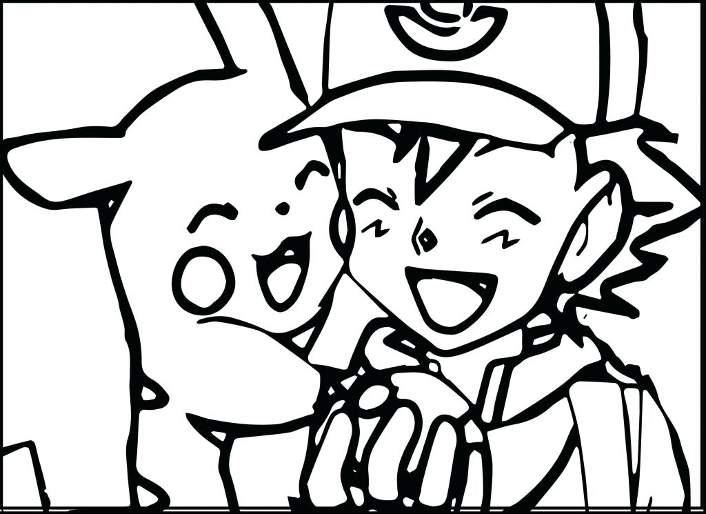 1024x745 Pikachu Coloring Page Free Printable Coloring Pages For General