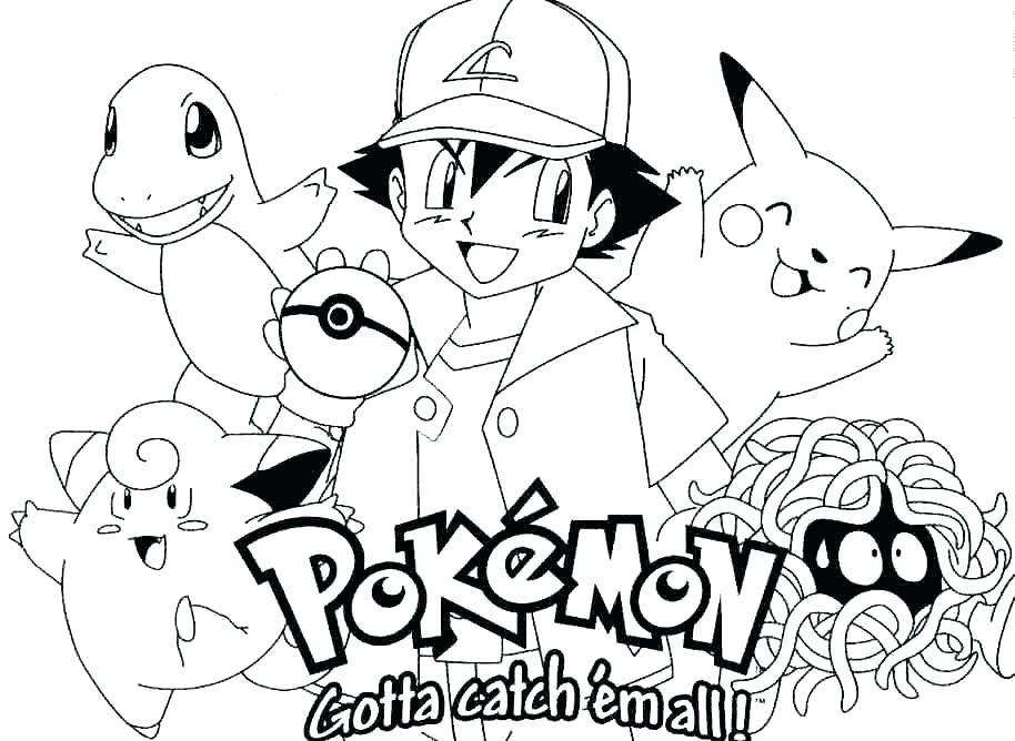 914x668 Pikachu Coloring Pages Coloring Pages Printable Coloring Pages