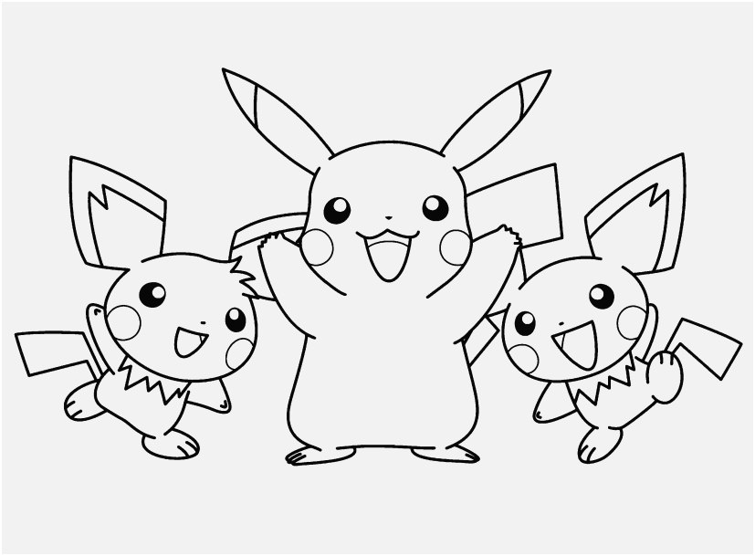 827x609 Pikachu Coloring Pages Image Pikachu Happy Faces Free Coloring