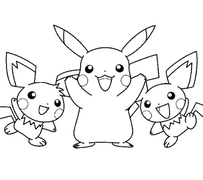 678x600 Pikachu Coloring Pages Ninja Pikachu Coloring Pages
