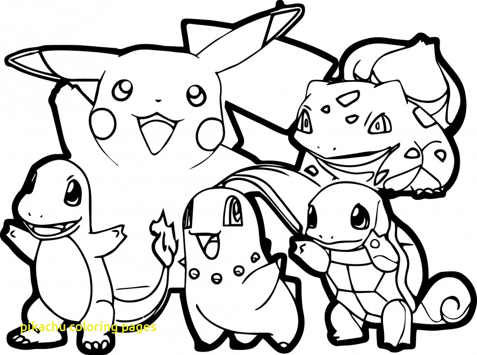 960x714 Pikachu Coloring Pages With Get This Pikachu Coloring Pages Free