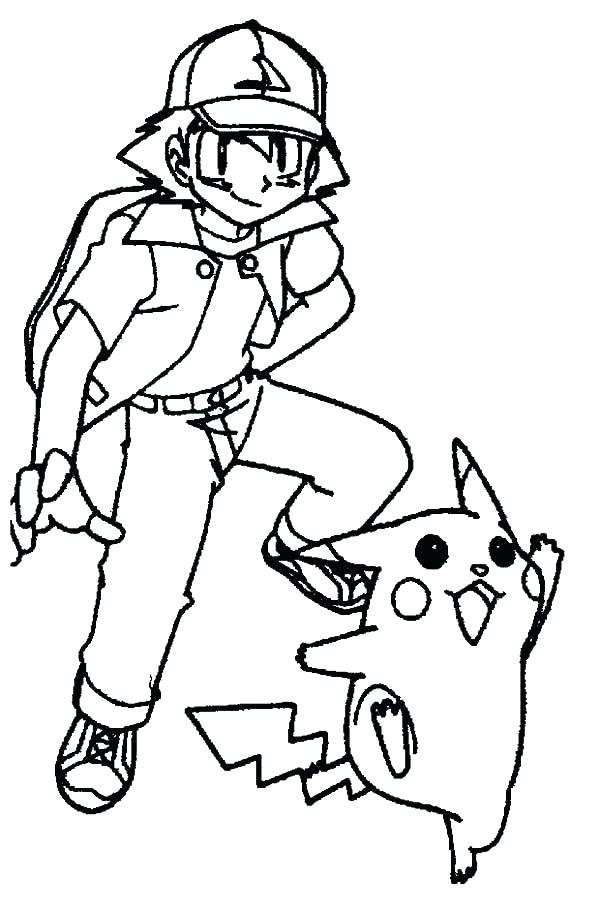 600x910 Pikachu Coloring Picture Coloring Pages Free Pokemon Pikachu