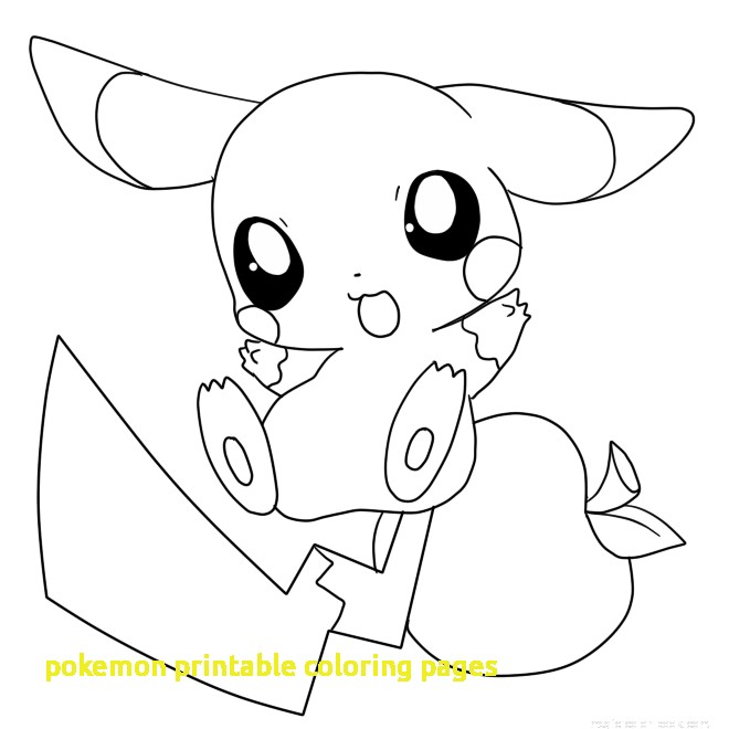 660x660 Pokemon Printable Coloring Pages With Sweet Looking Pokemon Print