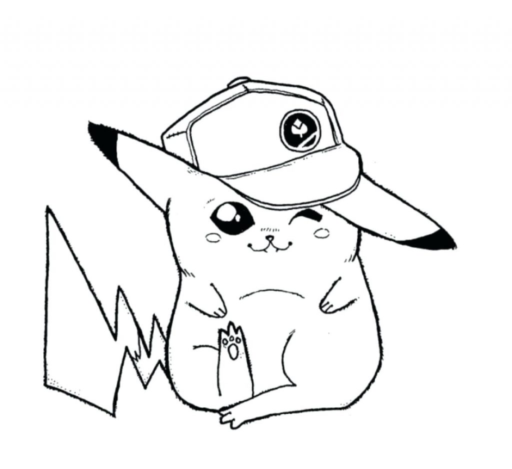 1024x938 Coloring Pages Pikachu Coloring Pages Page For Our Family Free