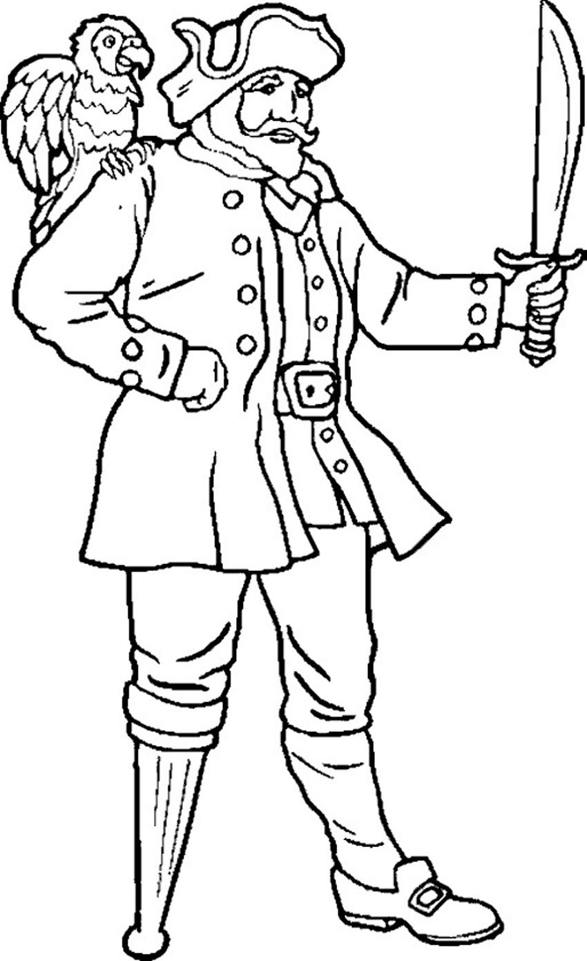 850x1392 Perfect Pirate Coloring Pages Have Free With Endearing Enchanting