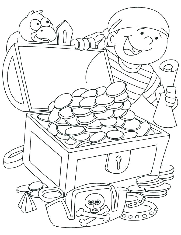 741x960 Free Pirate Coloring Pages