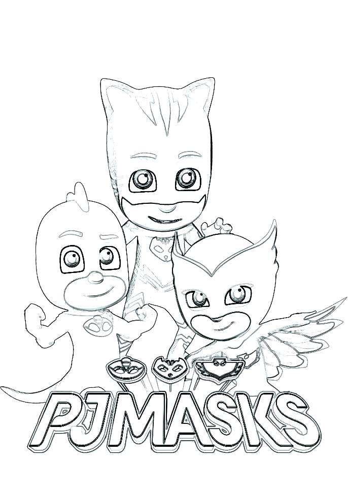 free pj masks coloring pages at getdrawings  free download