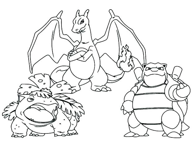 Free Pokemon Coloring Pages Black And White At Getdrawings