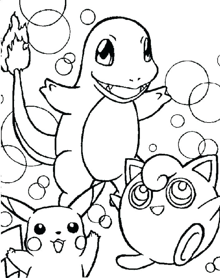 706x894 Pokemon Coloring Pages Printable Printable Coloring Pages