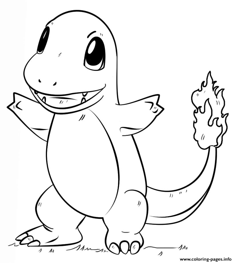 image about Pokemon Coloring Pages Free Printable called Free of charge Pokemon Coloring Webpages Black And White at GetDrawings